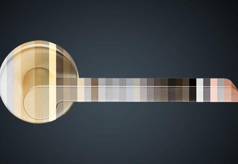 immagine maniglia finiture segmentata - senza testi