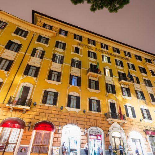 Roma, Hotel Porta Maggiore SHG.  fotografato per SHG da Cristian Castelnuovo. © Cristian Castelnuovo